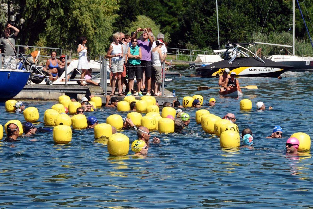 Foto gruppo in acqua